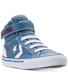 Converse Little Boys' Pro Blaze Strap Casual Sneakers from Finish Line