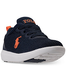Polo Ralph Lauren Toddler Boys\u0027 Kamran Casual Athletic Sneakers from Finish  Line