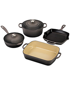 Le Creuset 6-Pc. Cast Iron Cookware Set