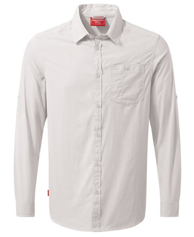 Craghoppers Men s NosiLife Tatton Long-Sleeve Shirt from Eastern Mountain  Sports e579ef636