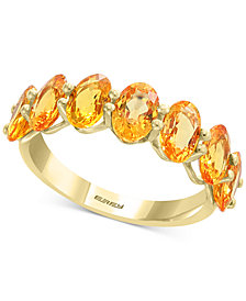 EFFY® Yellow Sapphire Ring (4 ct. t.w.) in 14k Gold