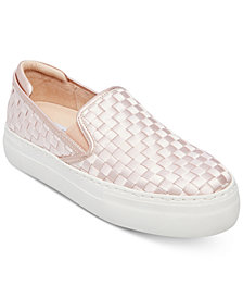Steve Madden Women's Monte Woven Slip-On Sneakers