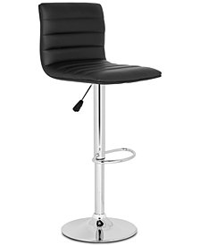 Undine Swivel Bar Stool, Quick Ship