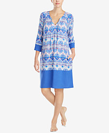 Ellen Tracy Printed Sleepshirt