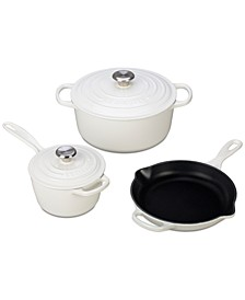 5-Pc. Cast Iron Cookware Set
