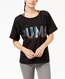 Puma Metallic Logo Relaxed T-Shirt