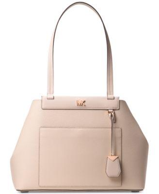 michael kors meredith east west bonded shoulder bag handbags rh macys com