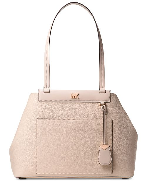 0ed97f5e8365 Michael Kors Meredith East West Bonded Shoulder Bag & Reviews ...