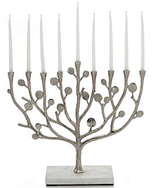 Michael Aram Judaica Botanical Leaf Menorah