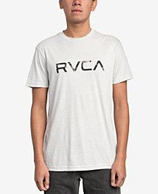 RVCA Men's McFloral Logo-Print T-Shirt