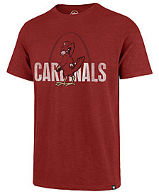 '47 Brand Men's St. Louis Cardinals Scrum Coop Logo T-Shirt
