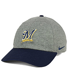 Nike Milwaukee Brewers 2 Tone Heather Cap