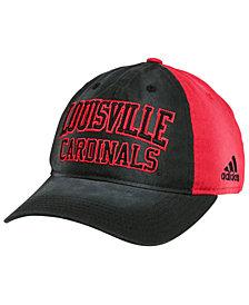 adidas Louisville Cardinals Sandblasted Slouch Cap