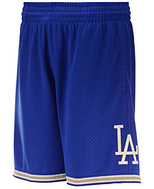 Mitchell & Ness Men's Los Angeles Dodgers Swing Shorts