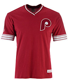 Mitchell & Ness Men's Philadelphia Phillies Coop Overtime Vintage T-Shirt