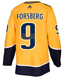 adidas Men's Filip Forsberg Nashville Predators adizero Authentic Pro Player Jersey
