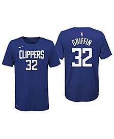 Blake Griffin Detroit Pistons Icon Name and Number T-Shirt, Big Boys (8-20)