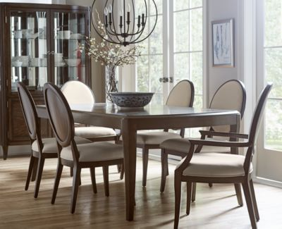 Pleasant Closeout Delfina Dining Furniture 7 Pc Set Expandable Leg Dining Table 4 Side Chairs 2 Arm Chairs Created For Macys Short Links Chair Design For Home Short Linksinfo