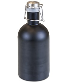 Legacy® by Picnic Time Matte Black Stainless Steel 64-Oz. Growler