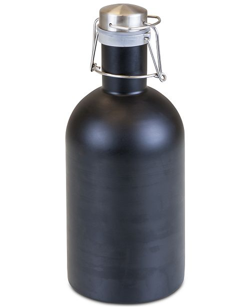 Picnic Time Legacy® by Matte Black Stainless Steel 64-Oz. Growler