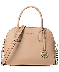 MICHAEL Michael Kors Cindy Medium Pocket Dome Satchel