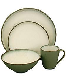 Sango Concepts Avocado Green 16-Pc. Dinnerware Set, Service for 4