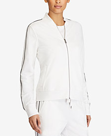 Lauren Ralph Lauren Stretch Bomber Jacket