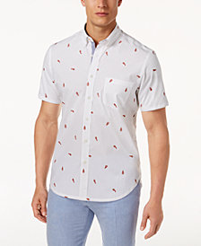 Con.Struct Men's Lobster-Print Shirt, Created for Macy's