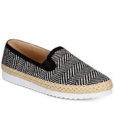 Callisto Tight Line Espadrille Slip-On Sneakers