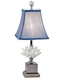 Dale Tiffany Lucinda Crystal Lamp