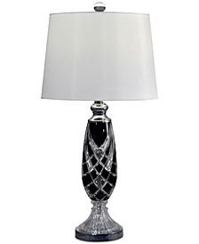 Black Shield Table Lamp