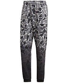 adidas Men's Originals Camo-Print Fleece Joggers