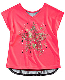 Ideology Little Girls Graphic-Print T-Shirt, Created for Macy's
