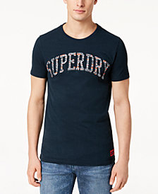 Superdry Men's Varsity Embossed T-Shirt