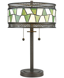 Dale Tiffany Rainy Slate Table Lamp
