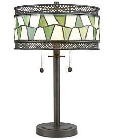 Dale Tiffany Rainy Slate Table Lamp