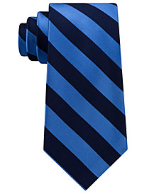 Club Room Men's Striped Silk Tie, Created for Macy's