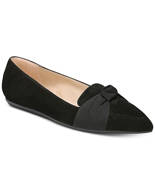 Franco Sarto Adrianni Pointed-Toe Slip-On Flats Women's Shoes vh4w6kTVd