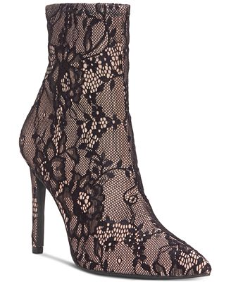 Livienne Lace Booties