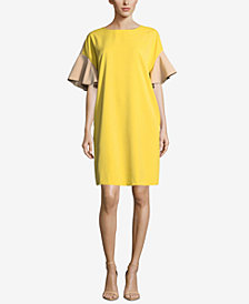 ECI Colorblocked Shift Dress