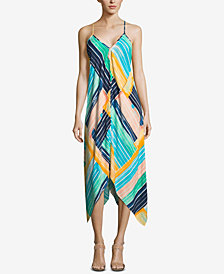 ECI Handkerchief-Hem Maxi Dress