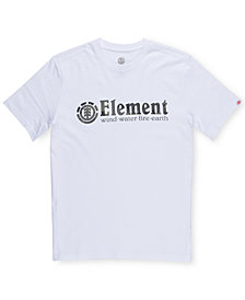 Element Men's Bark Logo-Print T-Shirt