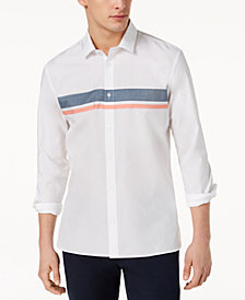 Calvin Klein Men's French Placket Shirt