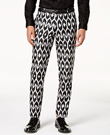 Mr. Turk X I.N.C. Men's Slim-Fit Ikat Pants, Created for Macy's