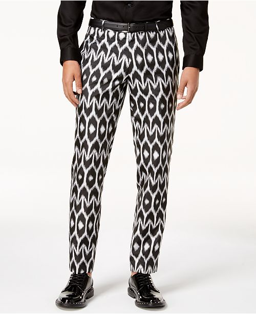 ed8fa45e9e ... INC International Concepts Mr. Turk X I.N.C. Men's Slim-Fit Ikat Pants,  Created ...
