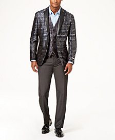 I.N.C. Men's Slim-Fit Party Jacquard Blazer, Created for Macy's