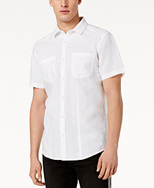 I.N.C. Men's Solid Pocket Shirt, Created for Macy's