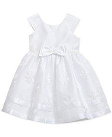Sweet Heart Rose Toddler Girls Floral Embroidered Dress