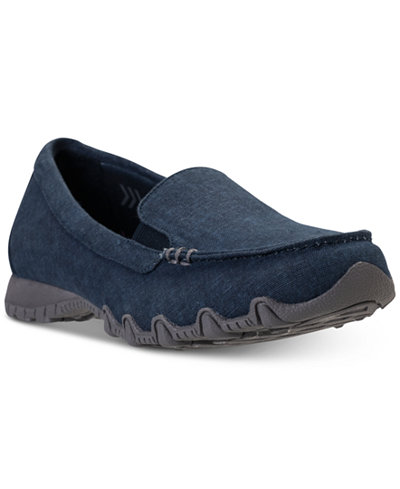 Skechers Women's Relaxed Fit: Bikers - Hyphen Casual Loafer Sneakers from Finish Line