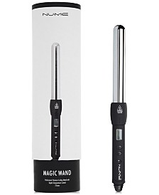 NuMe 25mm Magic Curling Wand (Black), from PUREBEAUTY Salon & Spa